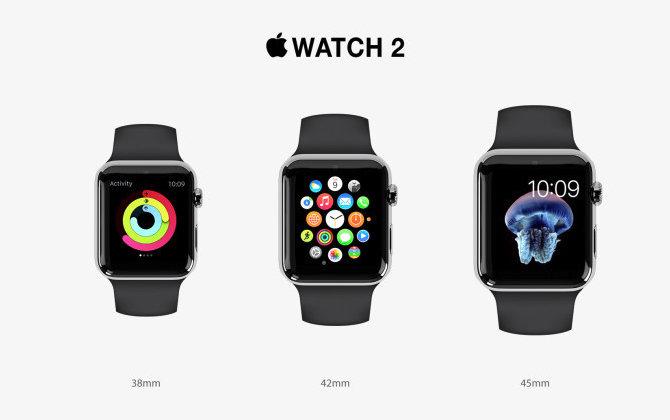 Любопытный концепт Apple Watch 2
