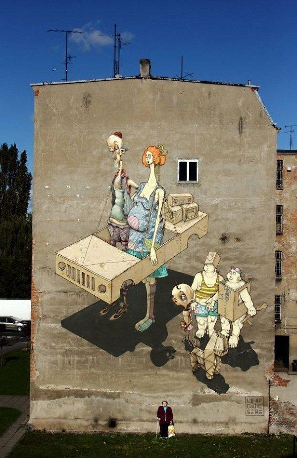 Лучшие граффити со всего мира