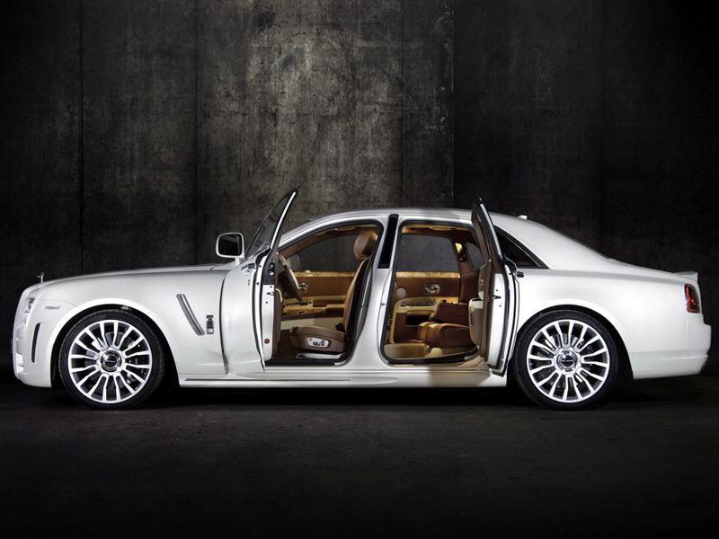 Mansory Rolls-Royce Ghost White