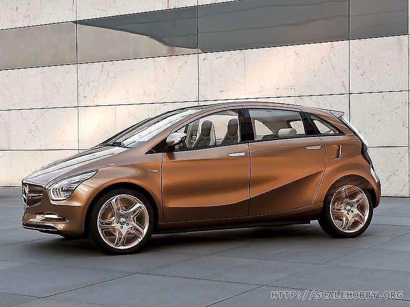 Mercedes-Benz BlueZero E-Cell Plus Concept '2009