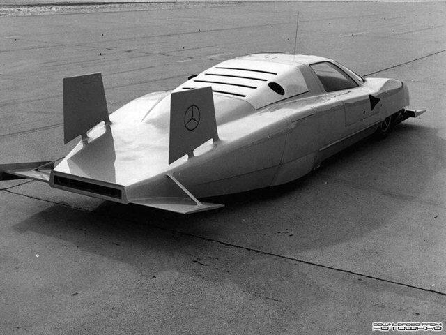 Mercedes-Benz C111-IV Concept (1979)