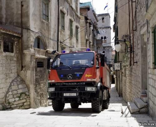 Mercedes-Benz Unimog U20: лесной «пожарный» для города - 17 Декабря 2009 - Веселый пожарный