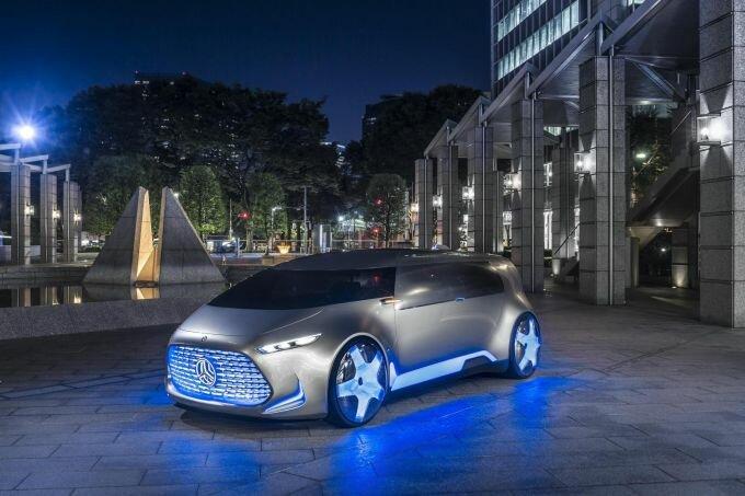 Mercedes-Benz Vision Tokyo – автомобиль для поколения Z