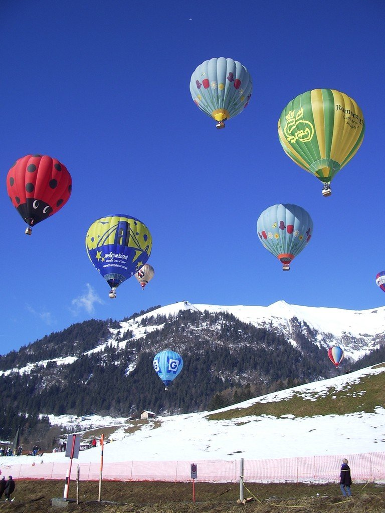 Международный фестиваль воздушных шаров в Шато-д'Оэкс-2012 — Блог о путешествиях и культуре в Европе