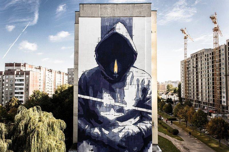 Минский стрит-арт попал в топ-10 популярных мировых граффити - Как тут жить.