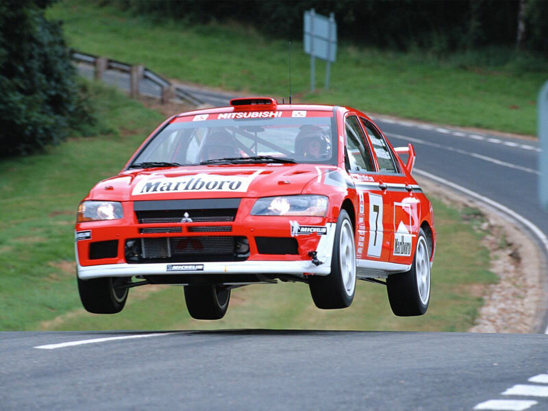 Mitsubishi Lancer Evolution VII WRC