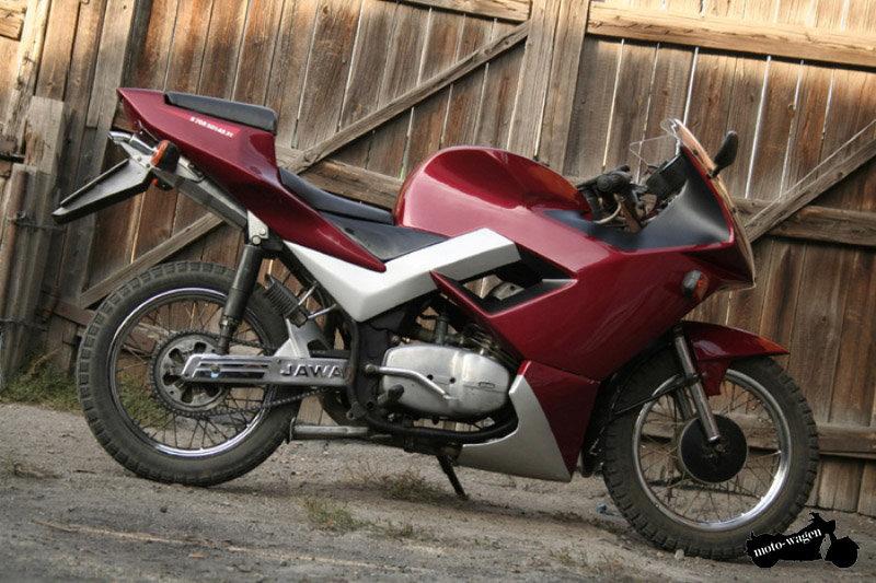 Мотоцикл Ява тюнинг