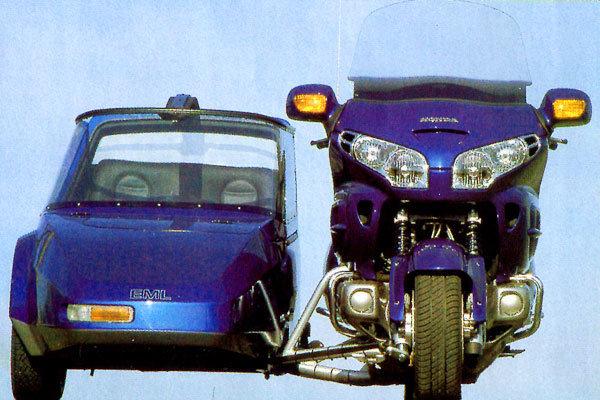 Мотоцикл с коляской EML Honda 1800/GT Twin