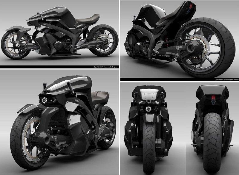 Мотоциклы будущего. Концепты и прототипы. | Superior Male