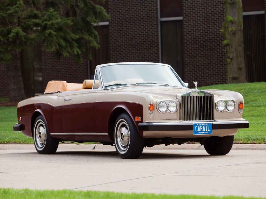 Mulliner Park Ward Rolls-Royce Corniche Drophead Coupe