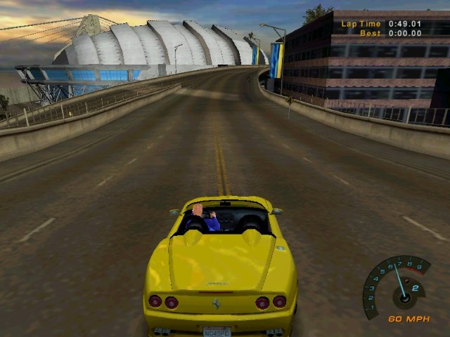 Need For Speed 6 Hot Pursuit 2 Скриншоты