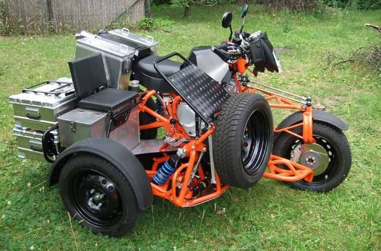 Необычные мотоциклы с колясками авто, мото, мотоколяска, мотоцикл