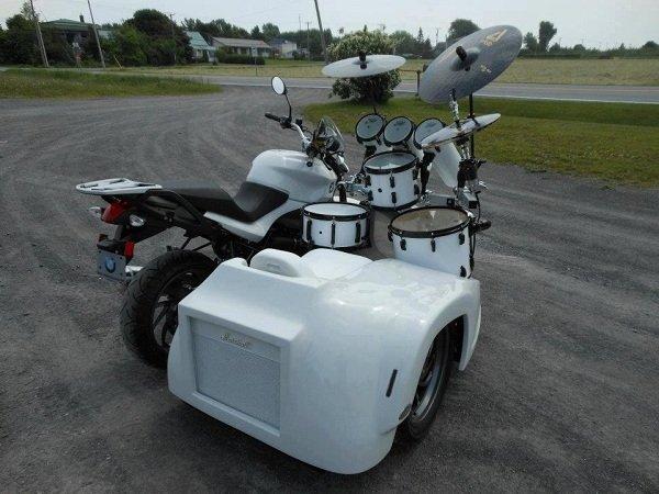 Необычные мотоциклы с коляской   AutoKost.kz