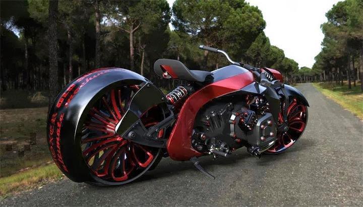 Необычный мотоцикл