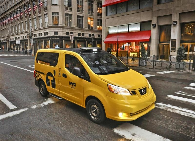 Nissan › 2014 NV200 Taxi