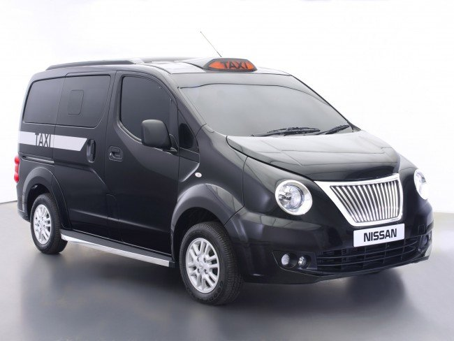 Nissan e-NV200 London Taxi 2014