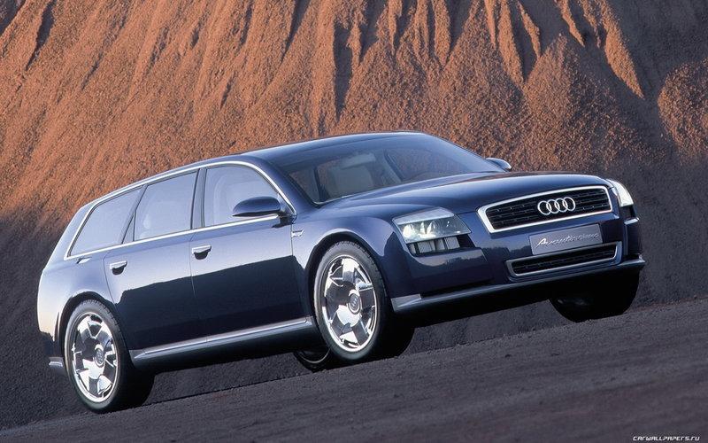Обои для рабочего стола концепткары  :: Concept Car Audi Avantissimo - 2001