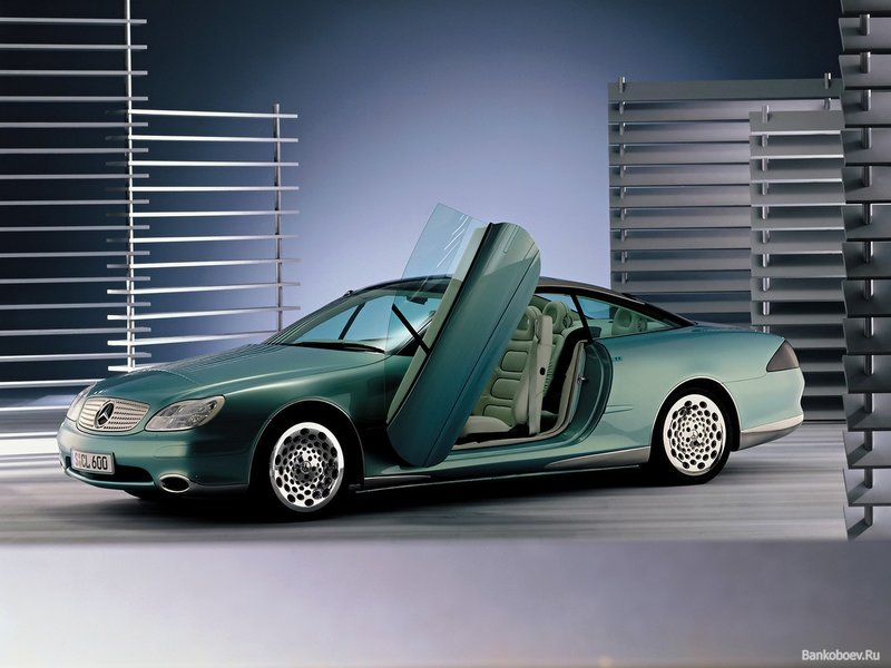 обои Mercedes-Benz F-200 Imagination concept фото