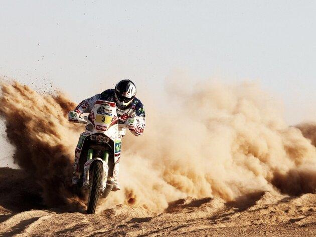 Обои Мотоцикл Yamaha на гонке Дакар, фото, картинки