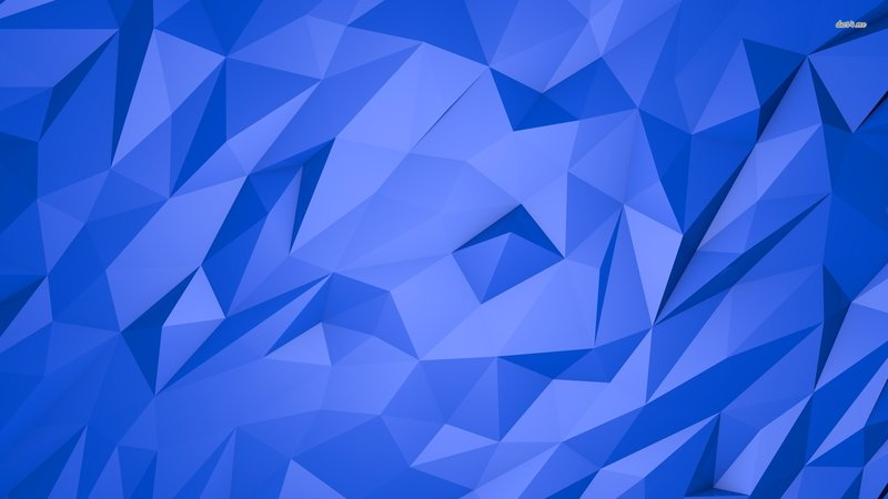 Обои Пирамиды для рабочего стола. Скачать бесплатно картинку  Сине-голубые стеклянные пирамиды сложены друг с другом ровными гранями, словно одноцветная мозаика..