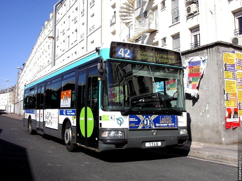 Общественный транспорт Парижа - Иностранно.ру