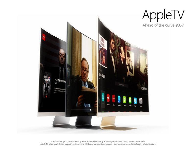 Пара дизайнерских концептов Apple TV | Keddr.com