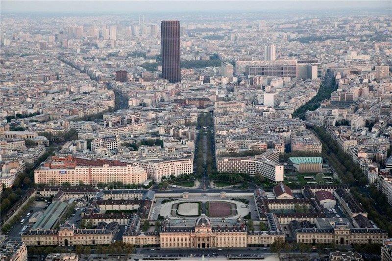 Париж с высоты птичьего полёта. Откуда созерцать?