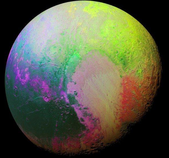Плутон глазами аппарата New Horizons