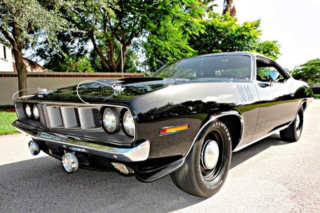 Plymouth Barracuda 1970: фото и технические характеристики