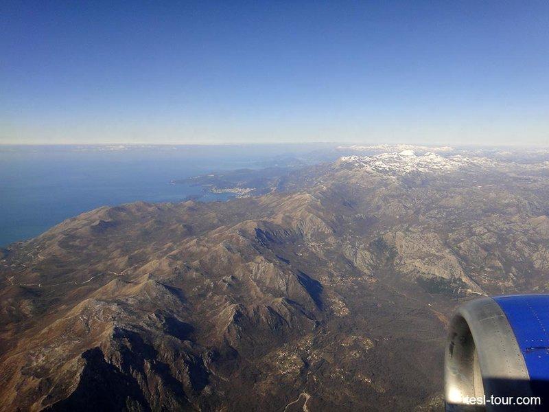 Полёт Москва-Тиват: лучшие виды из окна самолёта | ТУРИЗМ 21 ВЕКА