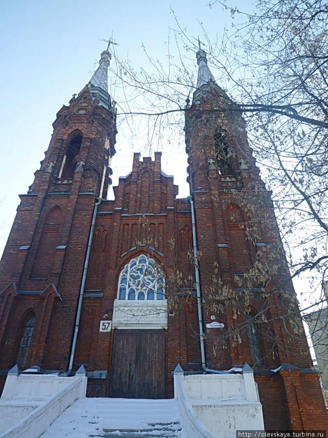 Польский костел Рыбинск, Россия