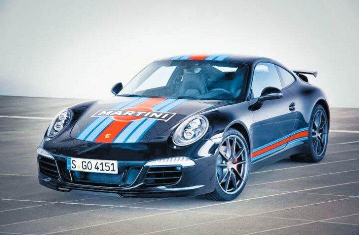 Porsche 911 Carrera S Martini Racing Edition – больше, чем просто скорость
