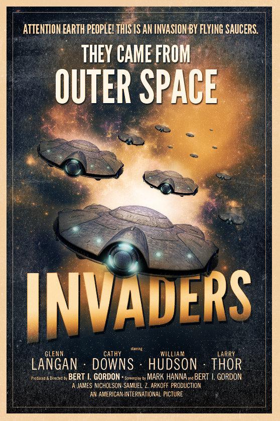 Постер в стиле Sci-Fi