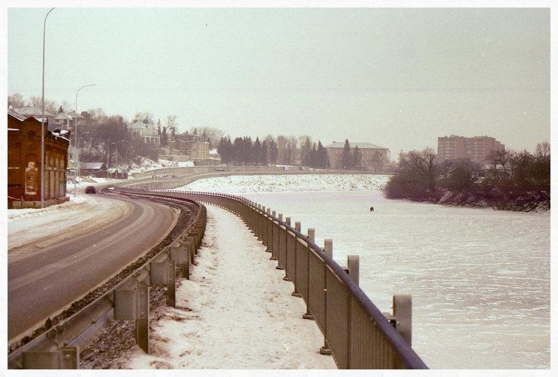 Прогулка вдоль замёрзшей реки. (съёмка на плёнку + 25 фото) - Андрей Калгин