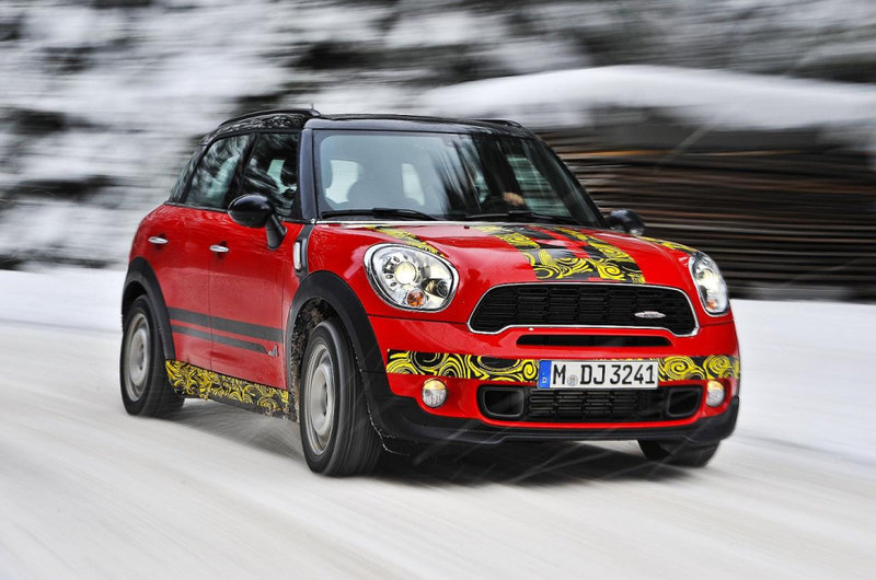 Прототип Mini Countryman JCW