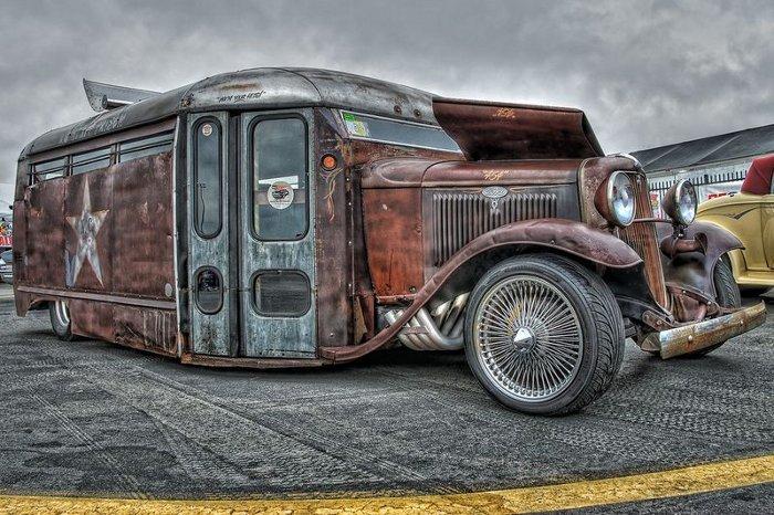 Ретро-автобус