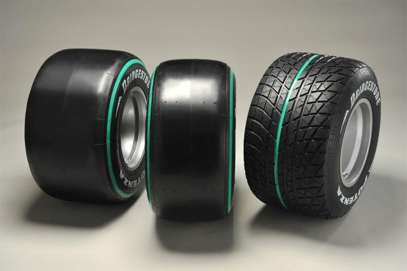 Резина для болида F1