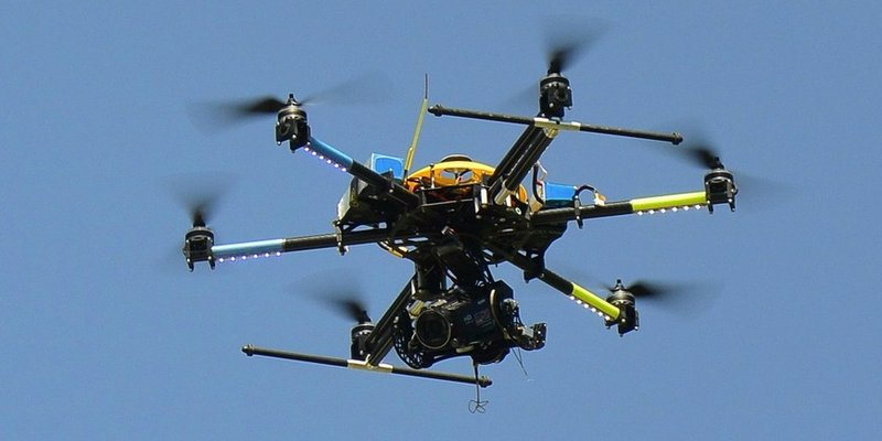 Samsung создает летающего дрона