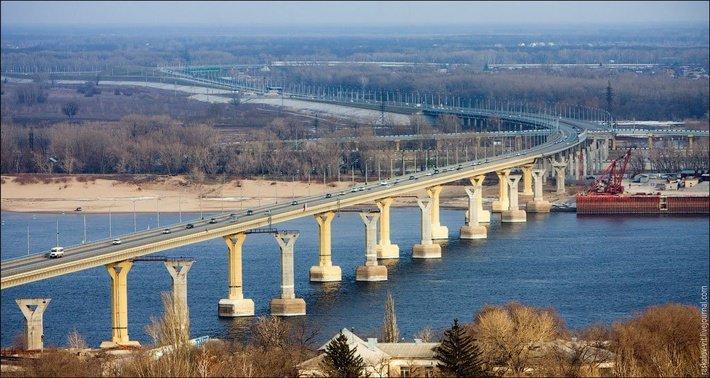 Самые длинные мосты России