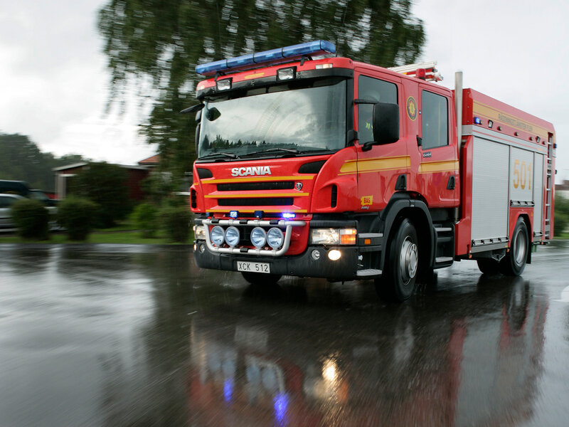 Scania P-series P 340 4x2 CrewCab Fire - 10 фото