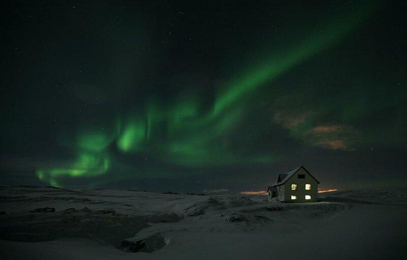 Северное сияние - Фото-картинки  плюс