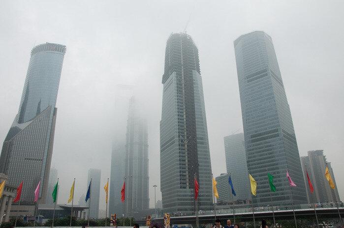 Шанхай в тумане