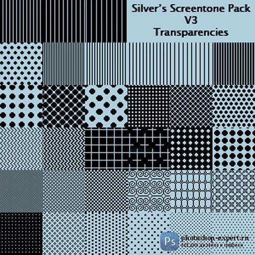 Silver's Screentone Pack