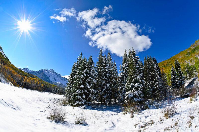 Советы по съемке зимой