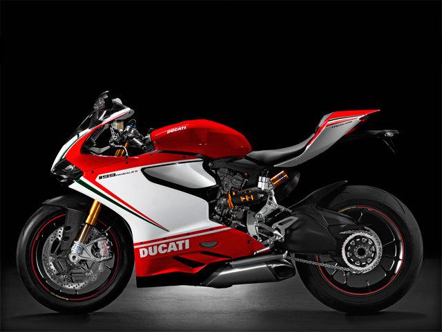 Спортбайк Ducati 1199 Tricolore Panigale