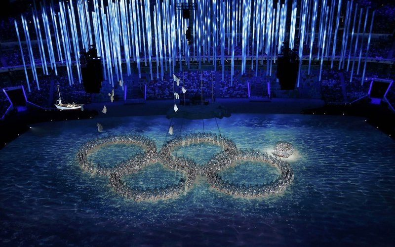 stadium, olympic, close, sochi, meme, 2014, ceremony, games, russia, fisht, rings, fail, people