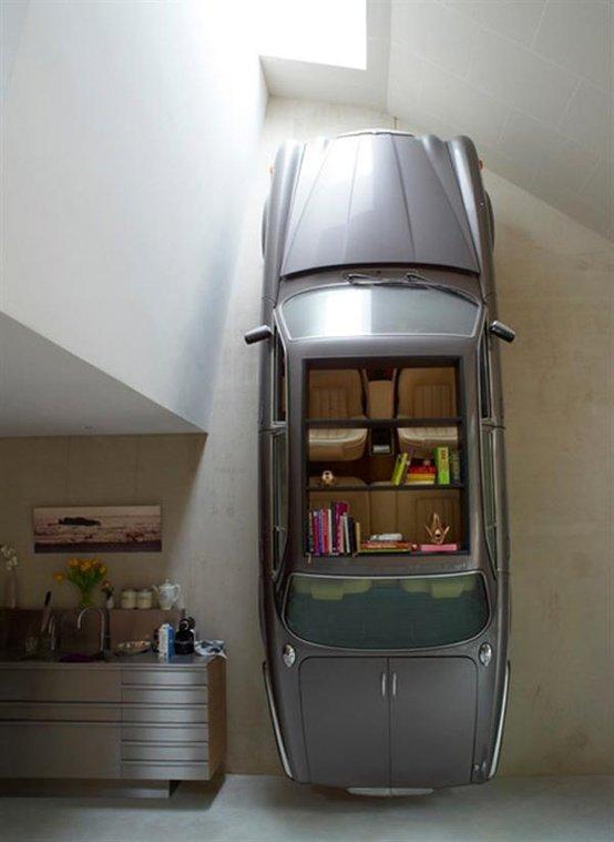 Стильный шкаф из автомобиля