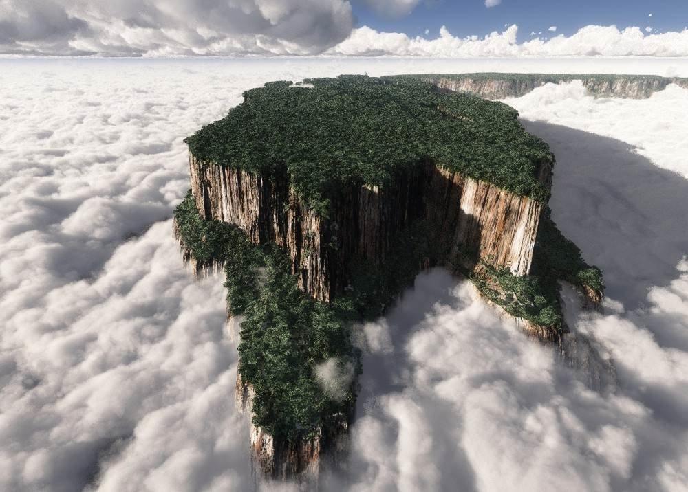 Столовые горы Тепуи в Венесуэле (фото и видео) | STENA.ee