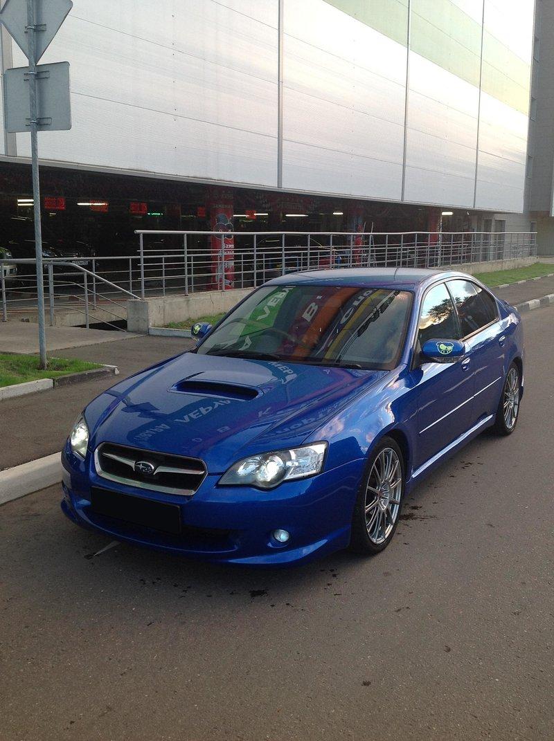 Subaru Legacy tuned by STi 2005