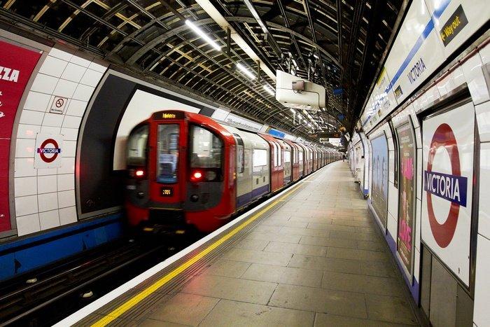 Так выглядит Лондонское метро в наши дни